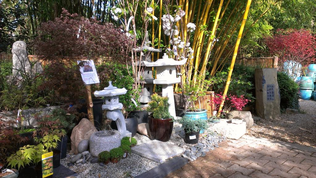 Bambous conception et am nagement de jardins jardins japonais jardins zen asiatiques - Decoration japonaise pour jardin ...