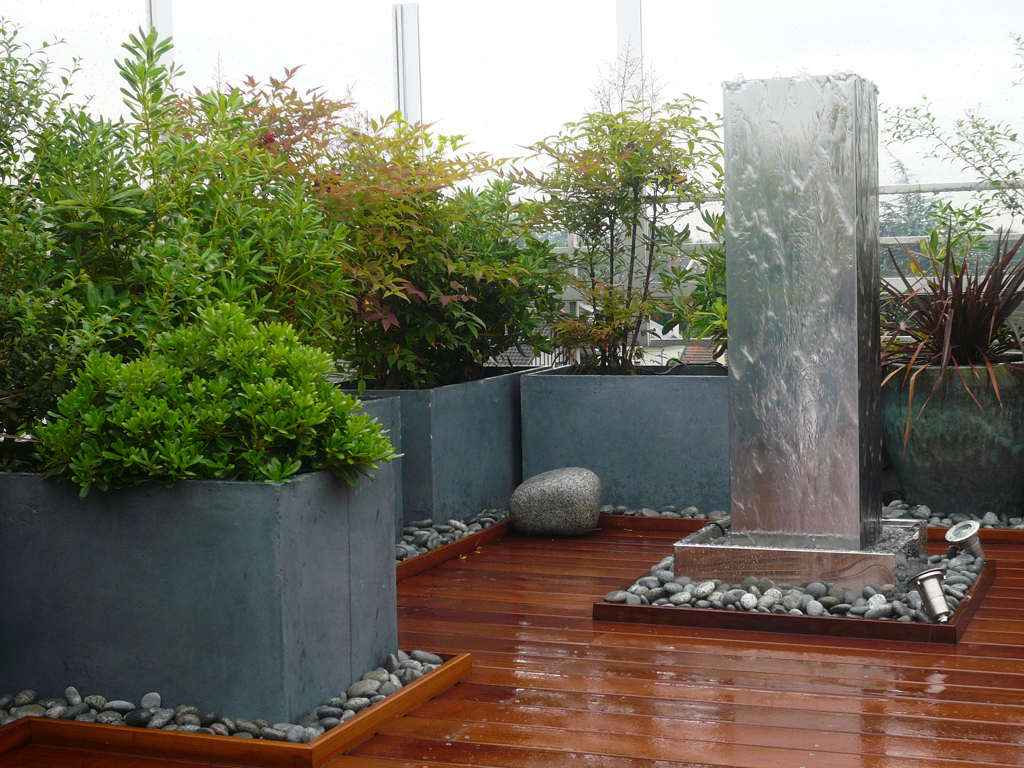 Bassin zen gallery of modele jardin zen new amenagement for Deco exterieur zen