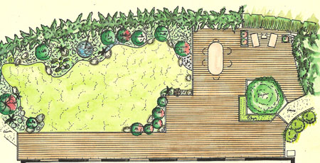 Bambous conception et am nagement de jardins jardins - Creer un jardin japonais ...