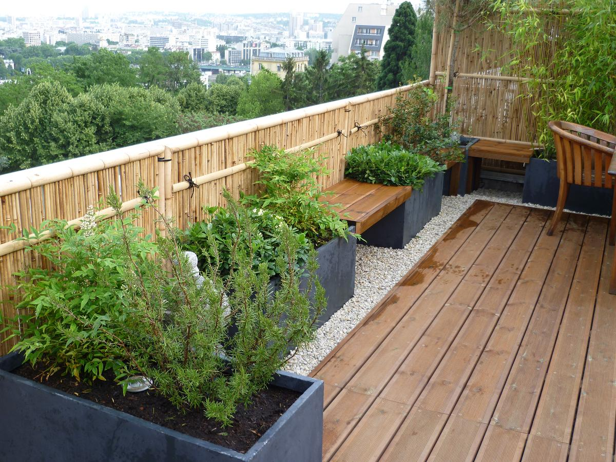 Amenagement de terrasses et jardins amenagement terrasse for Amenagement de terrasse photos